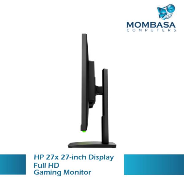 HP 27x (27inches) Full-HD Gaming Monitor – 144hz, 1ms response