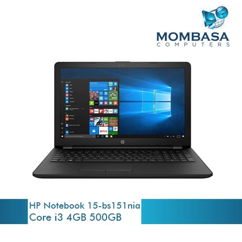 HP Notebook 15-bs151nia Laptop (i3, 4GB, 500GB)
