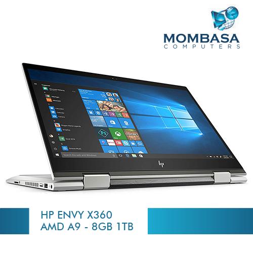 HP ENVY x360 AMD A9-9420 – 3.0 GHZ – 8GB RAM 1TB HDD